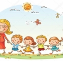 depositphotos_64700271-stock-illustration-cartoon-kids-and-their-teacher